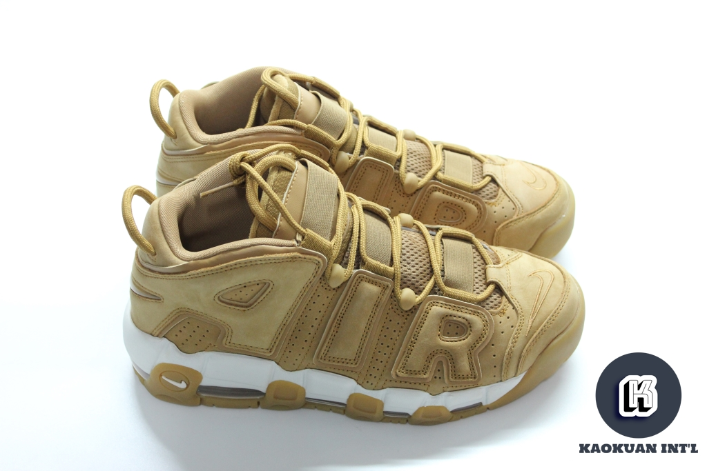 NIKE AIR MORE UPTEMPO WHEAT 小麥色 大AIR 籃球鞋 現貨 AA4060-200