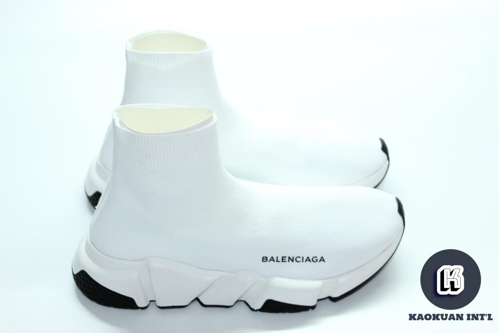 現貨 正品 Balenciaga 巴黎世家 襪套 Speed Trainer Sock 白 黑 黑底 女鞋