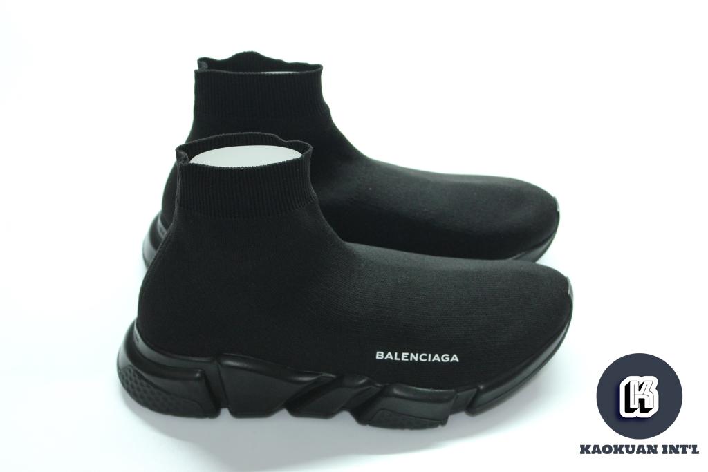 Balenciaga Speed Trainer Mid Runner 巴黎世家 襪套 鞋 全黑 配色
