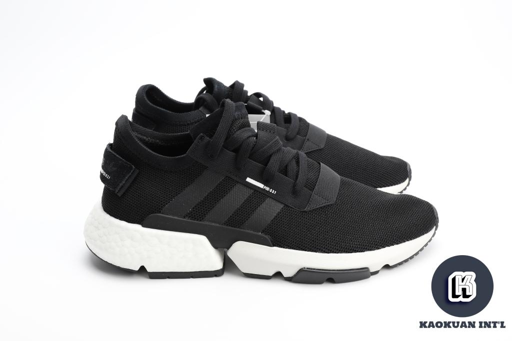 ADIDAS POD-S3.1 CORE BLACK 網布 麂皮 黑白 運動鞋 男女鞋 B37366