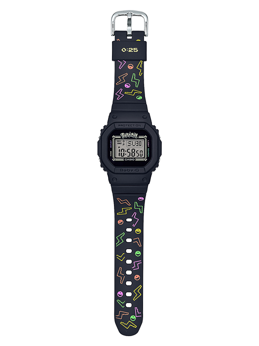 Casio Baby-G BGD-560PKC-1 Pokemon 寶可夢 聯名款 皮卡丘 手錶