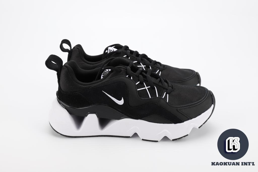 NIKE RYZ 365 黑白配色 厚底 鏤空 運動休閒鞋 BQ4153-003